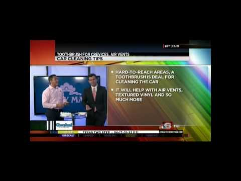 Molly Maid Shares Cleaning Tips for Your Car on KTAL NBC