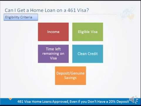 Can I Get a Home Loan Approved in Australia on a NZ Family Relationship Visa Subclass 461