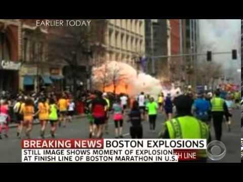 Explosion At Boston Marathon Exclusive
