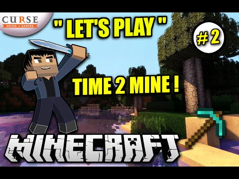 Minecraft PS4 - TIME 2 MINE - Let's Play #2 Season 2 Survival -