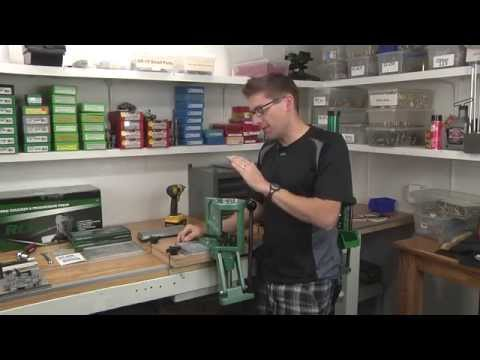 Mounting the RCBS Pro Chucker 5 using the Ultimate Reloader Bench System