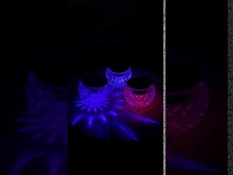 Set of 3 Color Change Solar Lights