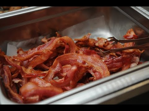 How do Hotels Cook Crispy Bacon ?