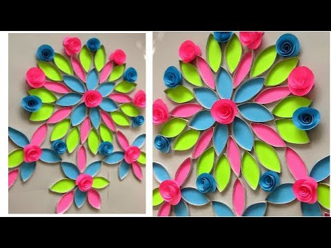 DIY: Wall Hanging Idea!!! How to Make Beautiful Wall Hanging With Toilet Paper Roll!!!