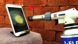 SAMSUNG VS GAS TORCH
