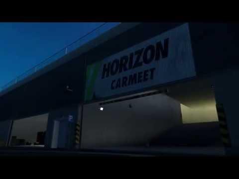 Forza Horizon 3 - Glitchy Car Meet Area?