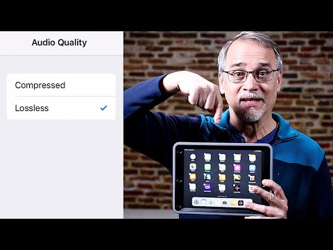 Audio Switch - Compressed to Lossless on iPad/iPhone/iPod