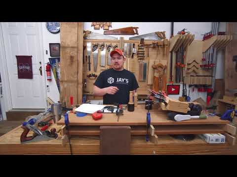 Vlog #128: rambling about a workbench and coffee table
