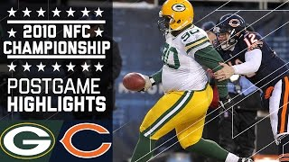 Packers vs. Bears 2010 NFC Championship | Game Highlights | NFL