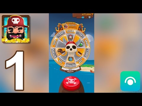 Pirate Kings - Gameplay Walkthrough Part 1 - Island 1: Tropical Coast (iOS, Android)
