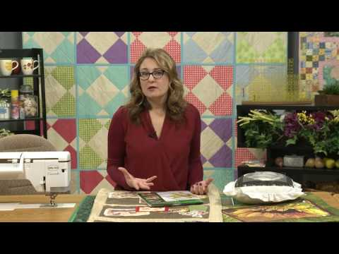 My First Quilt - Episode 204 Preview - How to Create Picture Quilts
