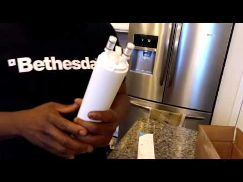 HOW TO CHANGE YOUR FRIGIDAIRE REFRIGERATOR AIR AND WATER FILTER VERY EASY