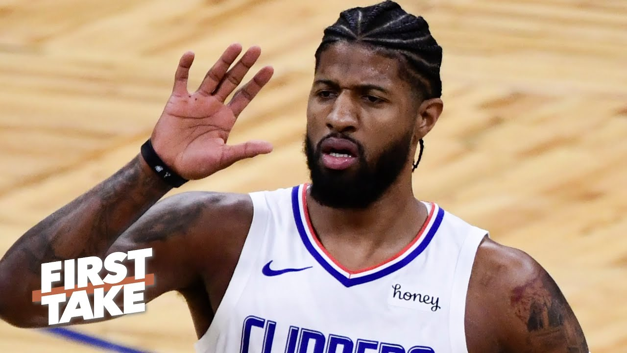 Stephen A. and Max debate the pressure facing Paul George in the postseason | First Take