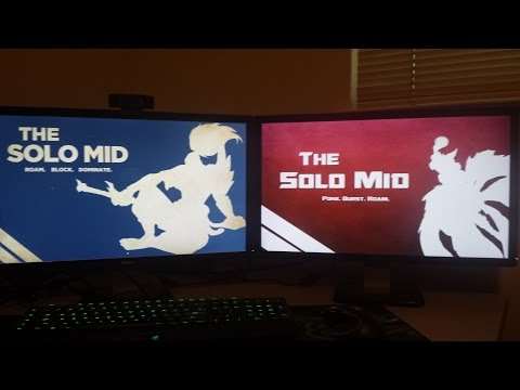 How to have multiple wallpapers (multiple monitors) FREE - How to Game