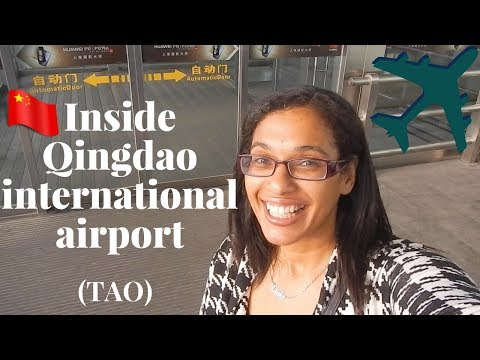 How to navigate Qingdao (TAO) international airport | landside and airside