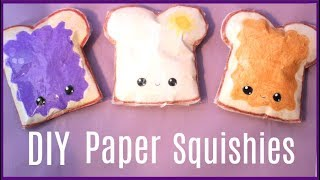 Download DIY PAPER Squishies! How to make a squishy without foam or puffy paint Video