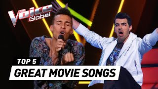 Great MOVIE SONGS 🎥 in The Voice
