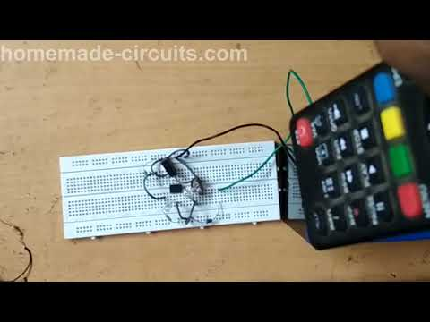 TV Remote Tester using an Opamp Circuit