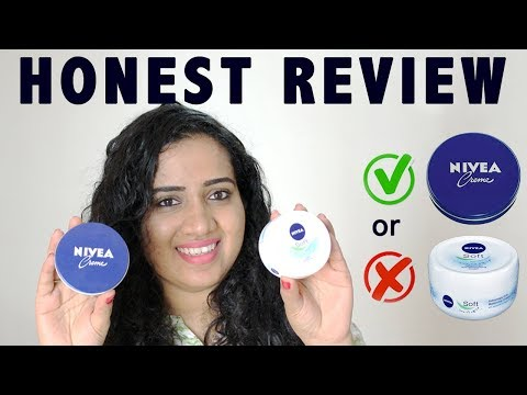 Nivea Creme vs Nivea Soft Light Moisturizer | Which is the best | which one to choose | Review Demo
