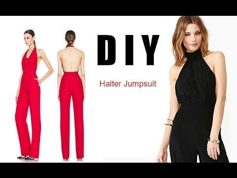 DIY Halter Jumpsuit