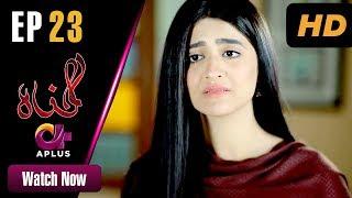 Gunnah - Episode 23 | Aplus Dramas | Sara Elahi, Shamoon Abbasi, Asad Malik | Pakistani Drama