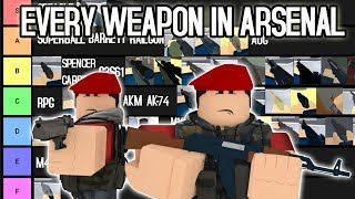 Roblox Arsenal Weapons | Robux Hack Download 2017