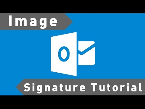 How to Use an Image in an Outlook Signature