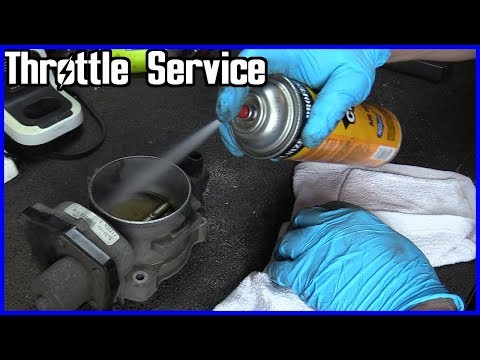 How to Service a Throttle Body Housing Ford F-150 5.4L 2004-2008 Trouble Codes P2106 P2135