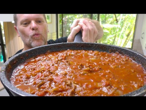 My Go To Spaghetti Sauce Recipe - Greg's Kitchen