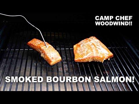Smoked Bourbon Salmon! Camp Chef Woodwind