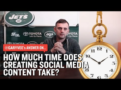 How Much Time Does Creating Social Media Content Take?