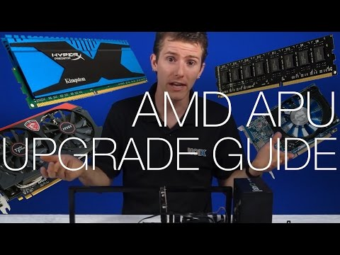 What's the Best AMD APU Upgrade? Faster RAM, Dual Graphics, or Gaming GPU