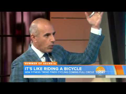 Cycling comes with top health benefits