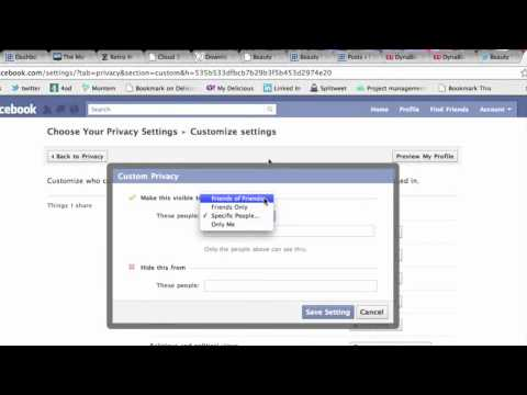 SEO Superstars - Facebook: how to modify your privacy settings