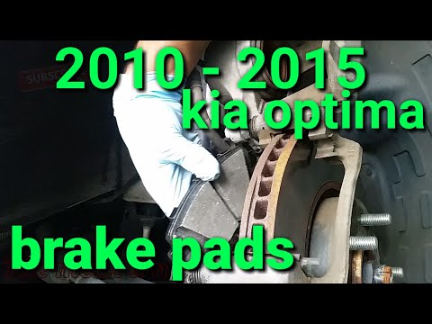 2010 - 15 kia optima front brake pads