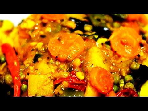 Mixed Vegetable Curry Recipe by Attamma TV
