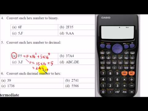 Convert hexadecimal number to binary and decimal