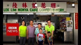 Preserving a dying Singapore tradition - BBC News