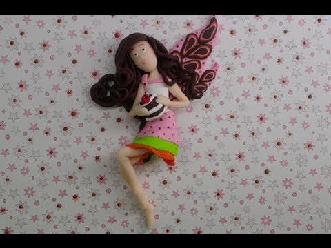 Polymer clay/Fimo tutorial- Fairy