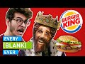 Download EVERY BURGER KING EVER MP3,3GP,MP4