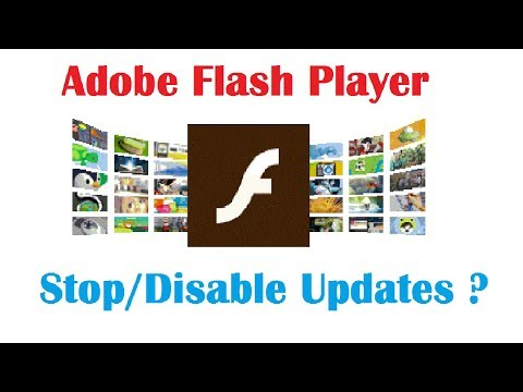 How to Stop/Disable Adobe Flash Player Updates Service (Quick Method)