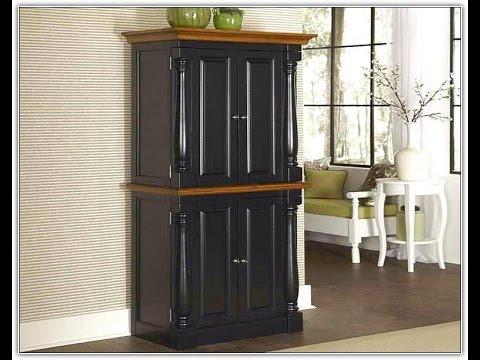 Free Standing Corner Pantry Cabinet
