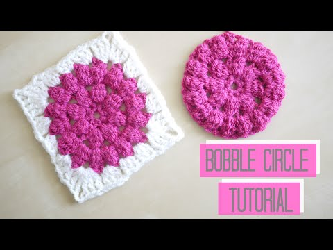 CROCHET: Bobble circle tutorial | Bella Coco