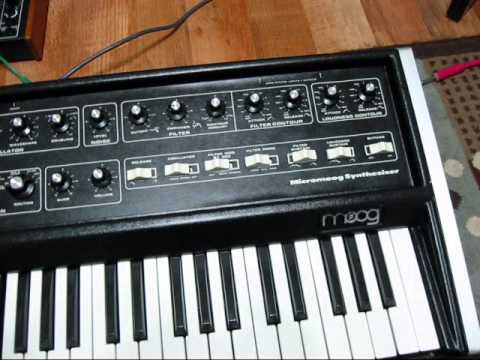 Moog Micromoog restoration (by Synthpro)
