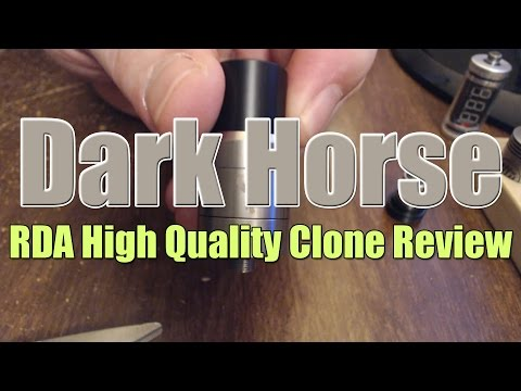Dark Horse Review and Dual Coil Build | VAPEFOG