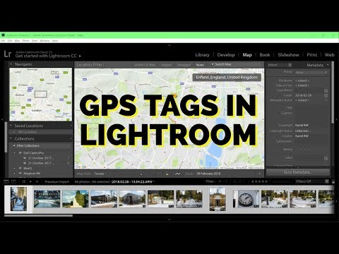 How To Add GPS tags to Photos in Lightroom CC in 3 steps