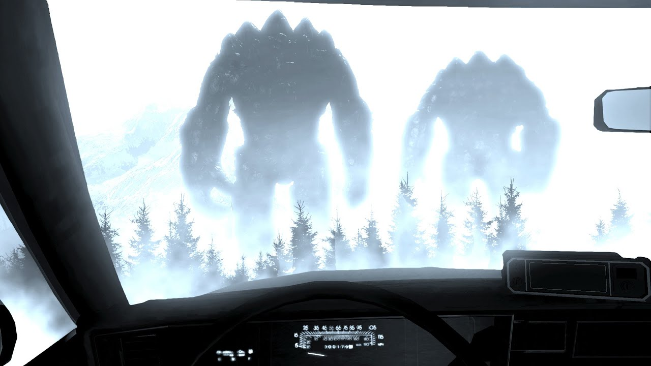 I Have to Hunt Down These MASSIVE TITANS in My Car and I Regret Everything - Titan Chaser