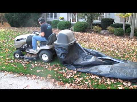 How To Make a Giant Leaf Collector