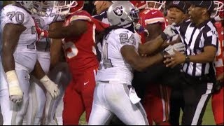 Marshawn Lynch Gets EJECTED For Grabbing A Referee | Chiefs vs. Raiders | NFL