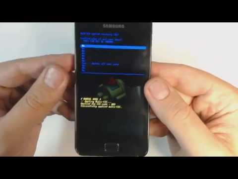 Samsung Galaxy S2 I9100 - How to remove pattern lock by hard reset